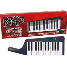 Rock Band 3 Wireless Keyboard with game / PS3