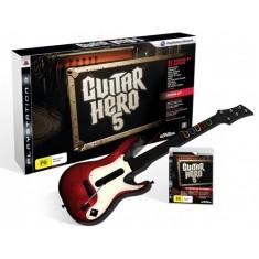 Guitar Hero 5 Guitar Bundle / PS3