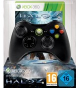 Xbox 360 Wireless Controller with Halo 4 - Black