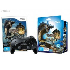 Monster Hunter Tri with classic controller / Wii