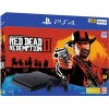 Playstation 4 Slim Console 500 GB + Red Dead Redemption 2