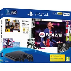 Playstation 4 Slim 500GB console + Fifa 21 + Extra Controller
