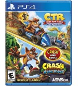 Crash Team Racing + Crash Bandicoot Trilogy Bundle / PS4