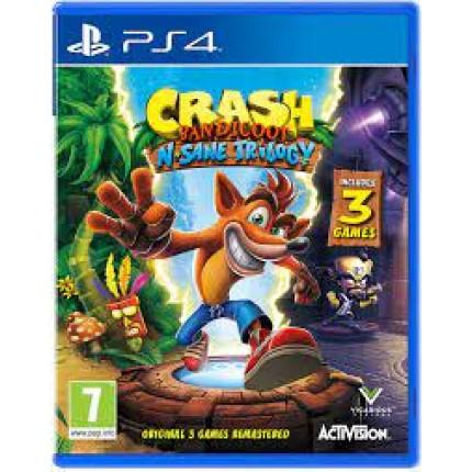 Crash Bandicoot N'Sane trilogy / PS4