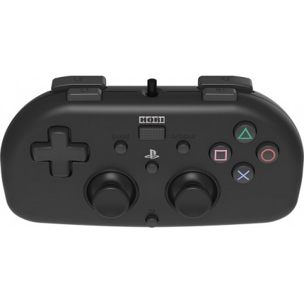 HORI Wired MINI Gamepad Black / PS4