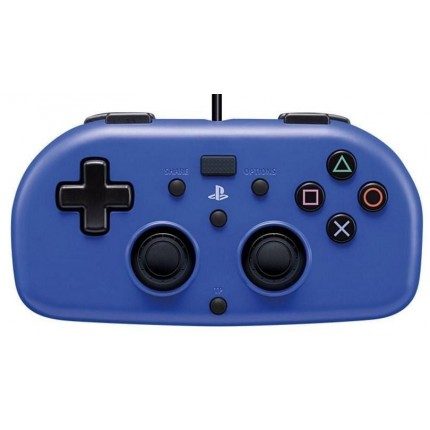 HORI Wired MINI Gamepad Blue / PS4