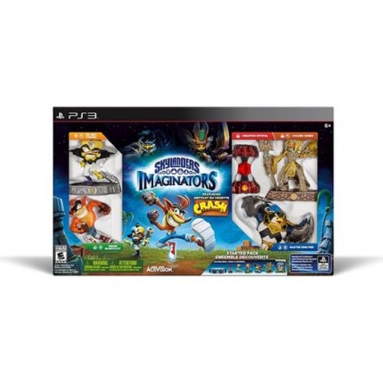 Skylanders Imaginators Starter Pack - Crash Bandicoot ltd ed