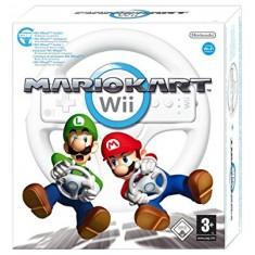 Nintendo Wii  Mario Kart with Wheel
