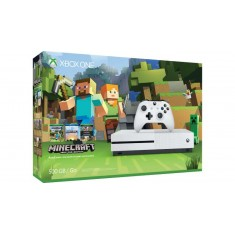 Xbox One S 500 GB Console inc. Minecraft