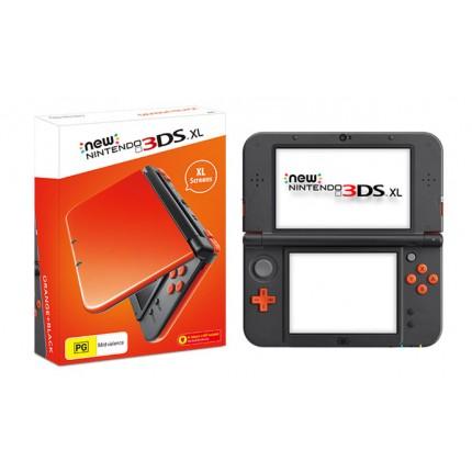 New Nintendo 3DS XL Console - Orange & Black