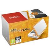 NEW Nintendo 2DS XL Console White & Orange
