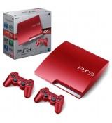 Playstation 3 Slim console 320Gb Scarlet Red