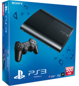 Playstation 3 Super Slim console 500Gb Black (kako novo)
