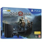 Sony Playstation 4 1TB HDD + God Of War - MODDED