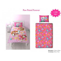 Paw Patrol Forever Single Panel Duvet / Homeware