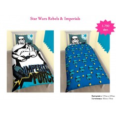 Star Wars Rebels & Imperials Single Panel Duvet / Homeware