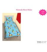Nintendo Mario Maker Single Rotary Duvet / Homeware