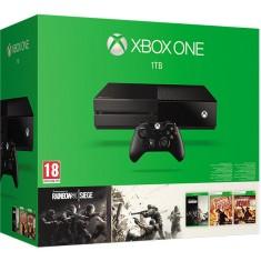 Xbox One Console 1TB + Rainbow 6 siege + Vegas 1,2