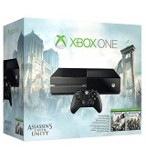 Xbox One 500 GB console Assassins creed 4 + UNITY (2 games)