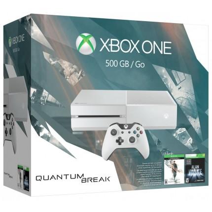 Xbox One 500 GB console White, Quantum Break + Alan Wake
