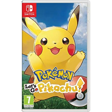 Pokemon: Let's Go Pikachu / Switch