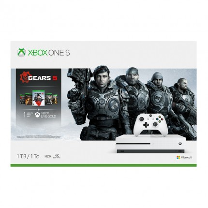 Xbox One Slim 1TB Console with Gears 5