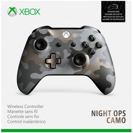 Xbox One Wireless Controller - Night Ops Camo