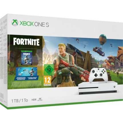 Xbox One S 1TB Console - including Fortnite