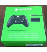 Xbox One Wireless Controller with Headset jack & Play Charge Kit
